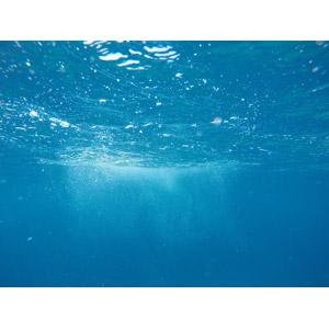 フリー写真, 風景, 自然, 海, 水中, 青色(ブルー)