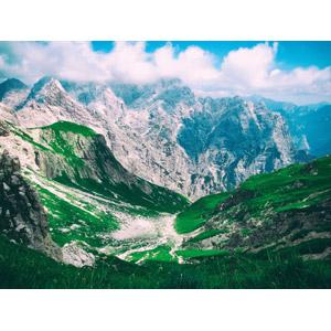 フリー写真, 風景, 自然, 山, アルプス山脈, イタリアの風景