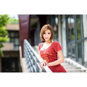 フリー写真, 人物, 女性, アジア人女性, 中国人, 希維亞(00231), ショートヘア