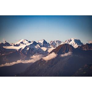 フリー写真, 風景, 自然, 山, 青空, アルプス山脈, スイスの風景