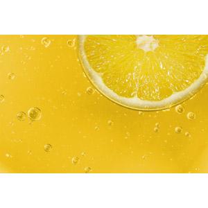 フリー写真, 背景, 食べ物(食料), 果物(フルーツ), レモン, 泡, 黄色(イエロー)