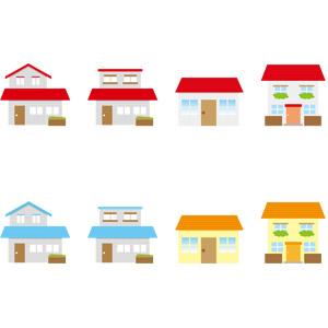 フリーイラスト, ベクター画像, AI, 建造物, 建築物, 住宅, 家(一軒家)