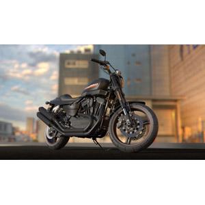 フリー写真, 乗り物, バイク(オートバイ), ハーレーダビッドソン