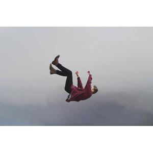 フリー写真, 人物, 男性, 外国人男性, 落下(落ちる)