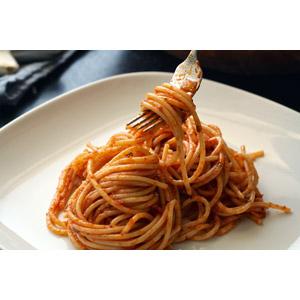 フリー写真, 食べ物(食料), 料理, 麺類, パスタ, スパゲッティ, イタリアの料理, フォーク
