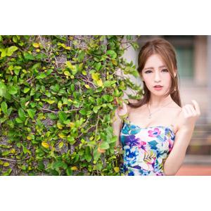 フリー写真, 人物, 女性, アジア人女性, Dora(00078), 中国人, 蔦(ツタ)