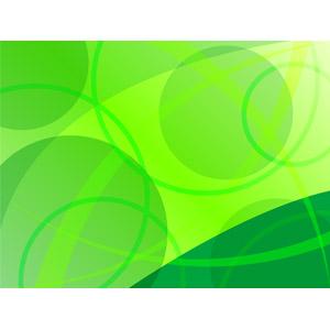 フリーイラスト, ベクター画像, EPS, 背景, 抽象イメージ, 曲線, 円形(サークル), 緑色(グリーン)