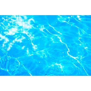 フリー写真, 背景, 水, プール, 青色(ブルー), 輝き