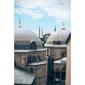 フリー写真, 風景, 建造物, 建築物, モスク, トルコの風景, イスタンブール