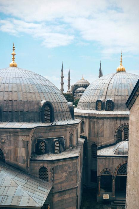 フリー写真 イスタンブールのモスク