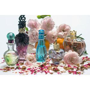 フリー写真, 香水, 花, 薔薇(バラ), ピンク色の花
