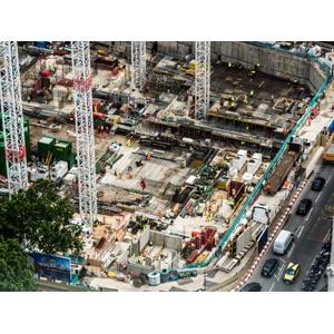 フリー写真, 風景, 建造物, 建築物, 工事, イギリスの風景, ロンドン