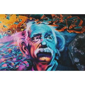フリー写真, ウォールアート, アルベルト・アインシュタイン