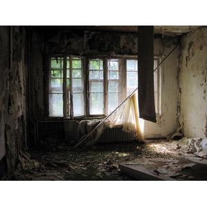 フリー写真, 風景, 部屋, 廃墟