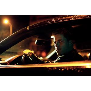 フリー写真, 人物, 男性, 外国人男性, 男性(00242), 人と乗り物, 自動車, 運転席, 見張り, 夜