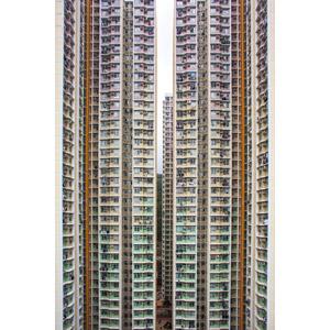 フリー写真, 風景, 建造物, 建築物, 高層ビル, 住宅, マンション(団地), 中国の風景, 香港