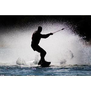 フリー写真, スポーツ, ウォータースポーツ, 水上スキー, 水しぶき