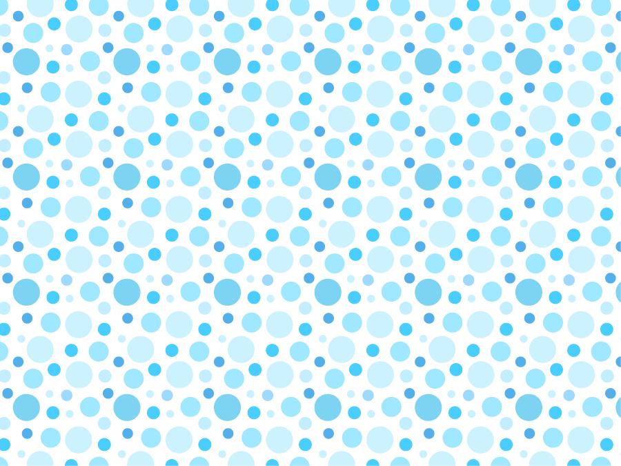 フリーイラスト 水色の水玉模様の背景