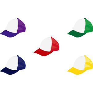 フリーイラスト, ベクター画像, AI, 帽子, キャップ帽, 野球帽, レディースファッション, メンズファッション