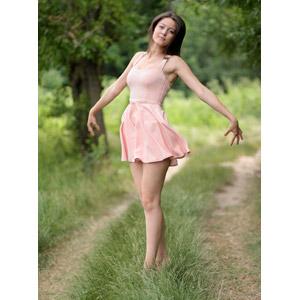 フリー写真, 人物, 女性, 外国人女性, 女性(00254), ルーマニア人, 踊る(ダンス)