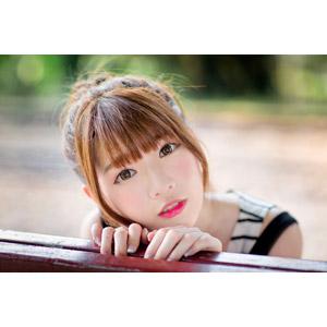 フリー写真, 人物, 女性, アジア人女性, 欣欣(00001), 中国人, 顔