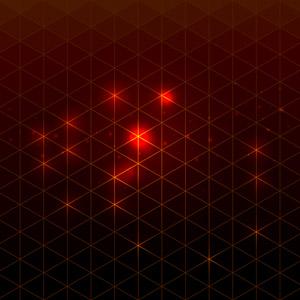 フリーイラスト, ベクター画像, AI, 背景, 抽象イメージ, 三角形(トライアングル), 光(ライト), 赤色(レッド)