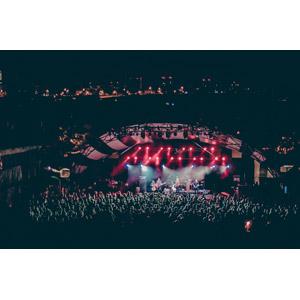フリー写真, 人物, 人込み(人混み), 観客, 音楽, コンサート(ライブ), 夜, ミュージシャン