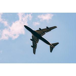 フリー写真, 乗り物, 航空機, 飛行機, 旅客機, 青空, 雲