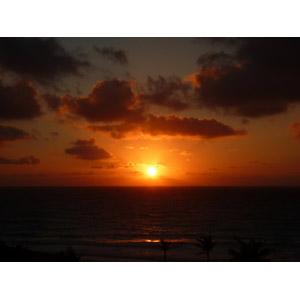 フリー写真, 風景, 自然, 夕暮れ(夕方), 夕焼け, 夕日, 日の入り, メキシコの風景