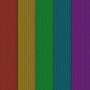 フリーイラスト, ベクター画像, AI, 背景, 編み目, 編み物(ニット), カラフル, 縞模様(ストライプ)