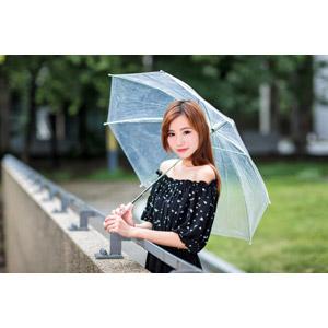 フリー写真, 人物, 女性, アジア人女性, 小潔(00183), 傘