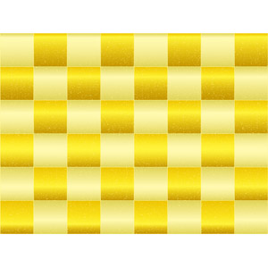 フリーイラスト, ベクター画像, AI, 背景, 和柄, 市松模様, 金色(ゴールド)