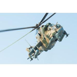 フリー写真, 乗り物, 航空機, ヘリコプター, 兵器, 攻撃ヘリコプター, Mi-24 ハインド, ウクライナ軍