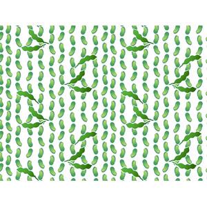 フリーイラスト, ベクター画像, AI, 背景, 食べ物(食料), 野菜, 豆(マメ), 枝豆(えだまめ), 緑色(グリーン)