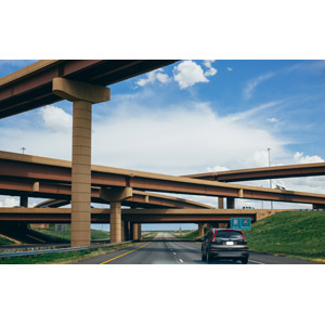 フリー写真, 風景, 建造物, 高架橋, 高速道路, 道路, ジャンクション, 自動車, アメリカの風景, コロラド州