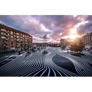 フリー写真, 風景, 建造物, 建築物, 街並み(町並み), 公園, スーパーキーレン, デンマークの風景, コペンハーゲン, 太陽光(日光)