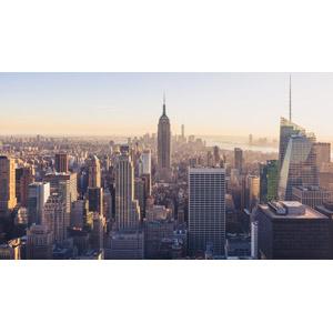 フリー写真, 風景, 建造物, 建築物, 高層ビル, 都市, 街並み(町並み), エンパイア・ステート・ビルディング, アメリカの風景, ニューヨーク