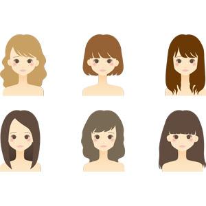 フリーイラスト, ベクター画像, AI, 人物, 女性, 美容