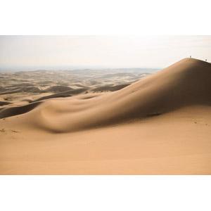 フリー写真, 風景, 自然, 砂漠, ゴビ砂漠, 砂丘, モンゴルの風景