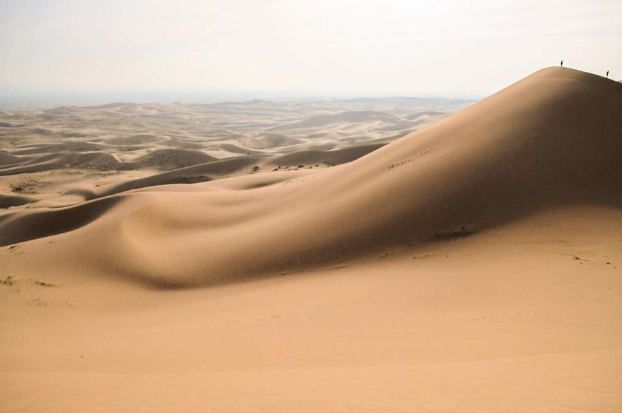 フリー写真 ゴビ砂漠の風景