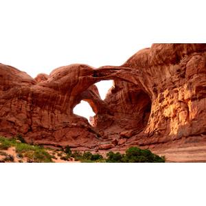 フリー写真, 風景, 自然, 天然橋, 岩山, アーチーズ国立公園, アメリカの風景, ユタ州