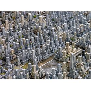 フリー写真, 風景, 墓地, お墓, 日本の風景