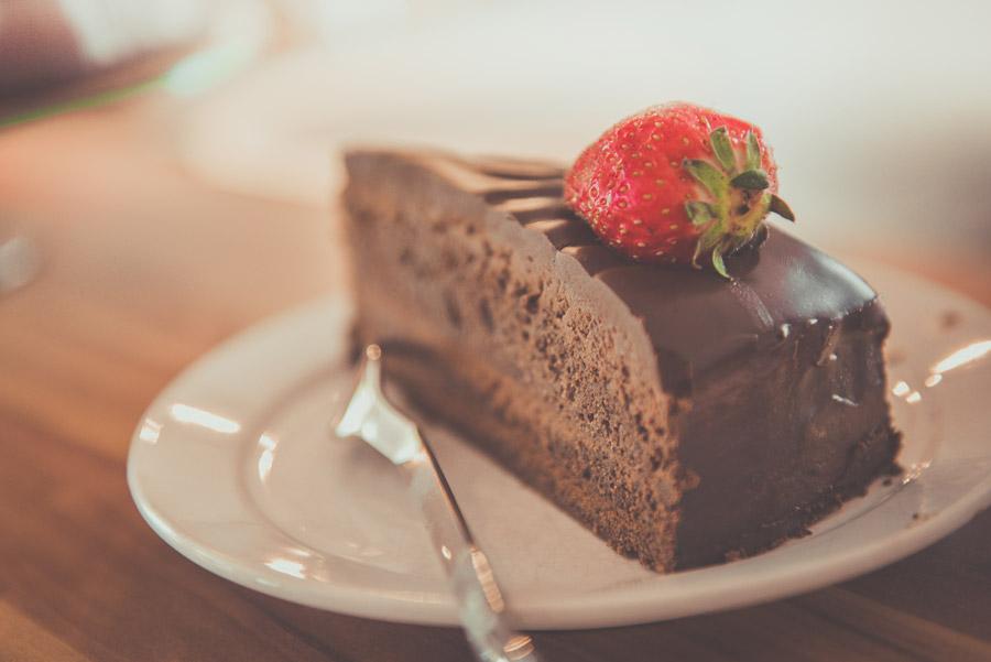 フリー写真 チョコレートケーキ