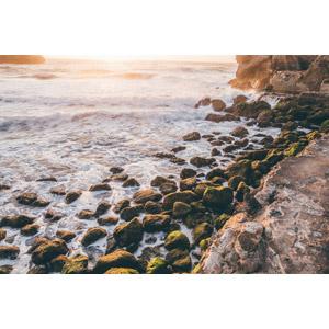 フリー写真, 風景, 海, 岩, 海岸