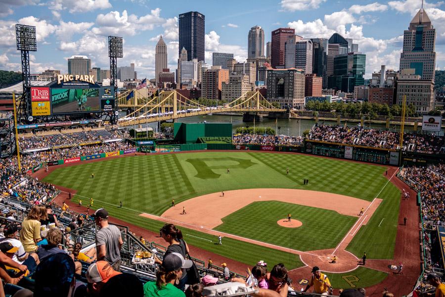 フリー写真 PNCパークの野球場の風景
