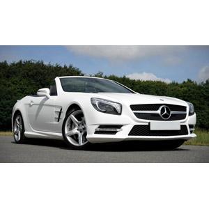フリー写真, 乗り物, 自動車, メルセデス・ベンツ, オープンカー, メルセデス・ベンツ・SLクラス