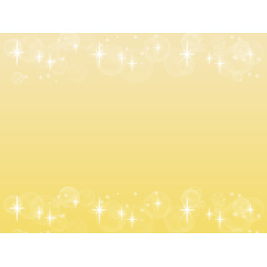 フリーイラスト, ベクター画像, AI, 背景, フレーム, 上下フレーム, 輝き, 黄色(イエロー), 玉ボケ, 光(ライト)