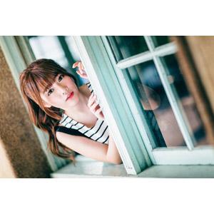 フリー写真, 人物, 女性, アジア人女性, 欣欣(00001), 中国人, 窓辺