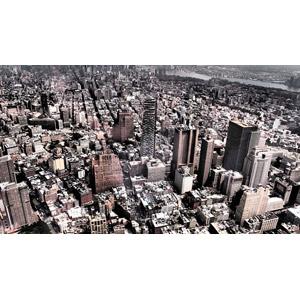 フリー写真, 風景, 建造物, 建築物, 高層ビル, 都市, 街並み(町並み), アメリカの風景, ニューヨーク