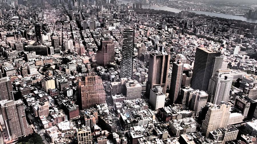 フリー写真 ニューヨークの都市風景